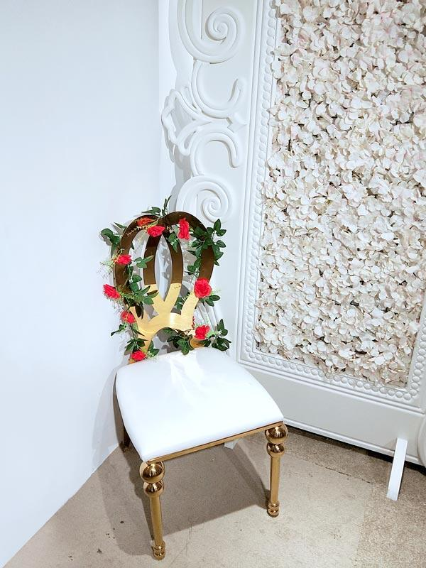 Perfect Wedding Furniture gold wedding chairs for bride and groom factory for hotel-2