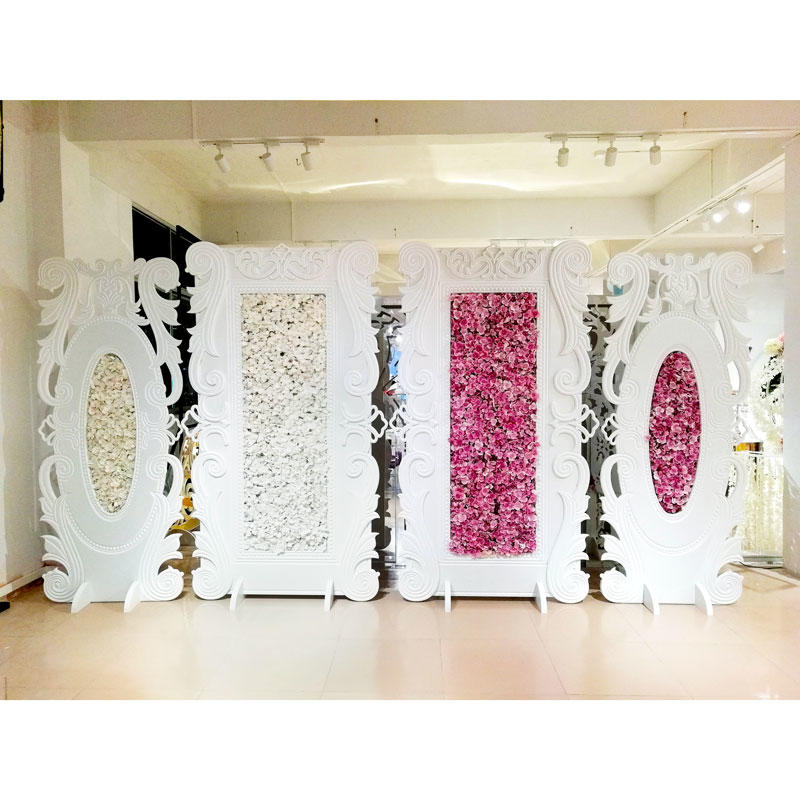 Perfect Wedding Furniture sliver wedding screen manufacturer for home-1
