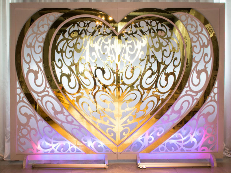 Perfect Wedding Furniture gold wedding screen decorations manufacturer for home-2