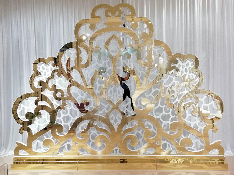 Perfect Wedding Furniture pvc wedding screen decorations to meet your needs for wedding ceremony-3