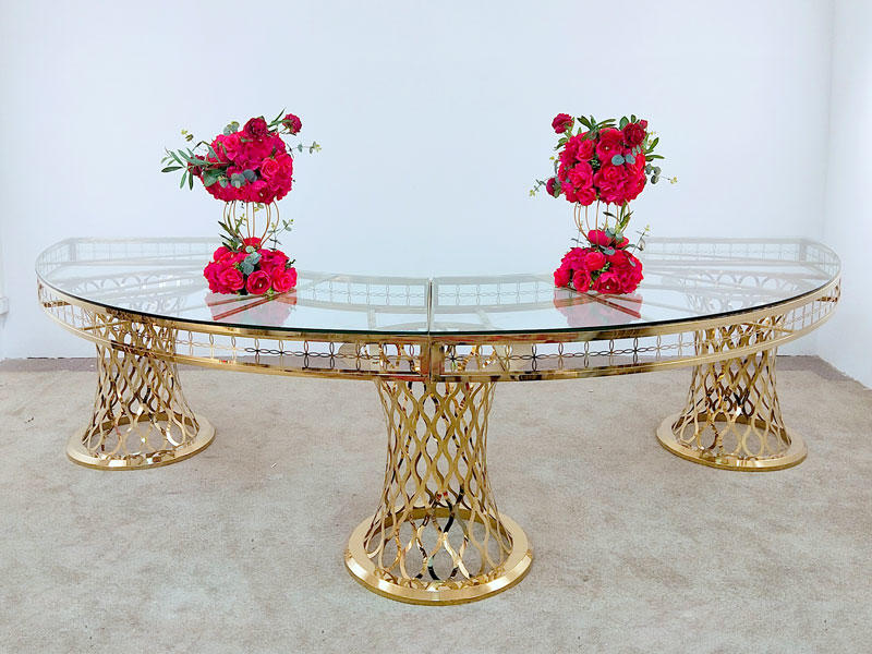 Perfect Wedding Furniture round wedding party table in various sizes for hotel-2